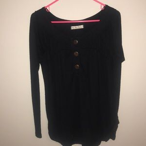 Free people button top